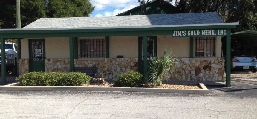 Jim's Gold mine and pawn Office